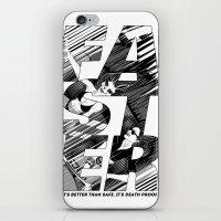 Faster II iPhone & iPod Skin