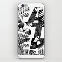 Faster II iPhone & iPod Skin