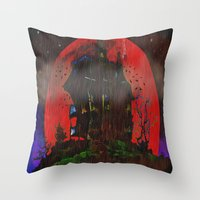 There Was A Crooked Hous… Throw Pillow