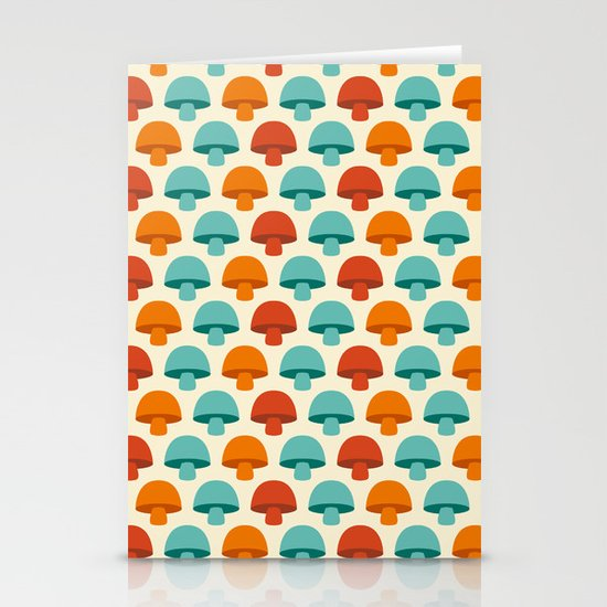 Don't eat the mushrooms! Stationery Card