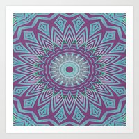 Gypsy Flower Art Print
