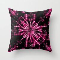 Fractal Imagination - Passion I Throw Pillow