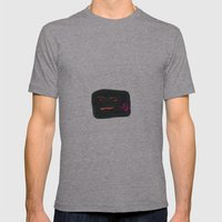 Face #02 Mens Fitted Tee Athletic Grey SMALL