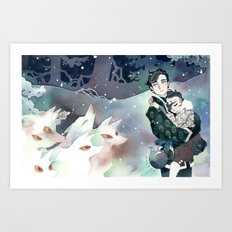 Won't You Let Us Play … Art Print