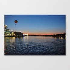 Downtown Disney Sunset I Canvas Print