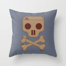 Paper Pirate Throw Pillow