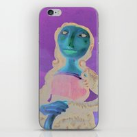 MonaLisa iPhone & iPod Skin