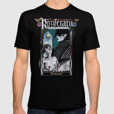 Rozzferatu - Fanart for Rozz Williams Mens Fitted Tee SMALL Black