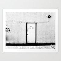 Pier 50A Art Print