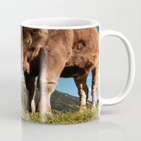 Cute Cow Close Mug