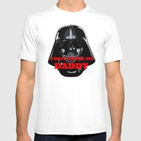 Force Choke Mens Fitted Tee White SMALL