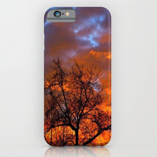 Winter Sunrise iPhone & iPod Case
