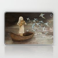 Solo at Dawn Laptop & iPad Skin