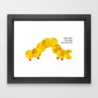 The Very Hungry Pacapillar Framed Art Print