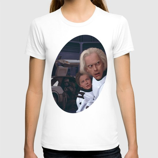 I Find Your Lack Of Jiggawatts Disturbing T-shirt