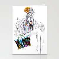 Tropic Relief Stationery Cards