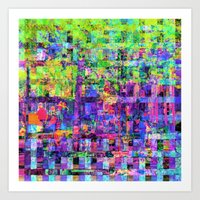 Equations involving a consequence of sequences. 07 Art Print