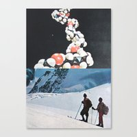 A Series Of Vibrations Canvas Print
