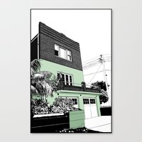 Coogee Canvas Print