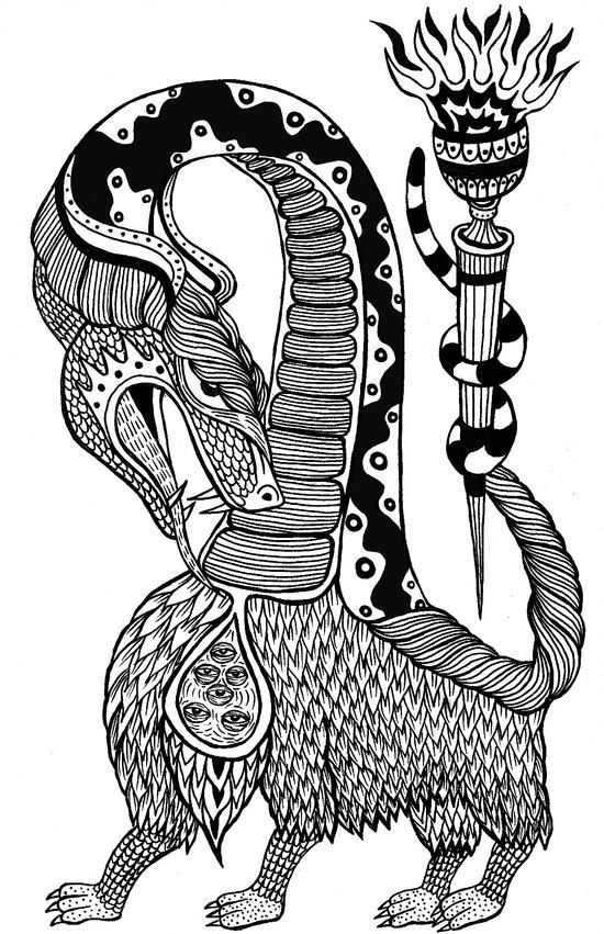 hybrid Art Print
