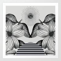 VESPERTINE Art Print