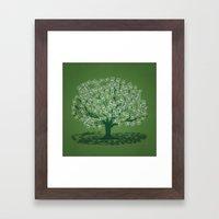 Money Tree Framed Art Print