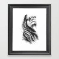 Throwback // Fashion Ill… Framed Art Print