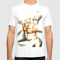 Trace Of The Hand Mens Fitted Tee White SMALL