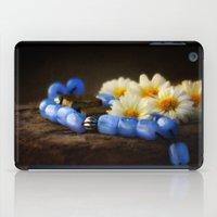 Blue Marbles iPad Case