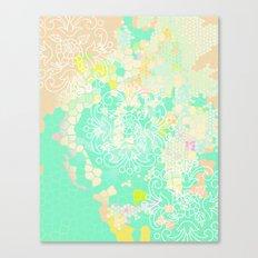 floral 011. Canvas Print