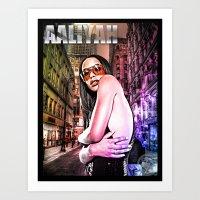 Street Phenomenon Aaliya… Art Print