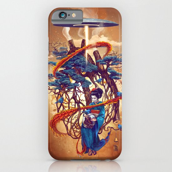 Pine container iPhone & iPod Case