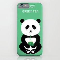 Enjoy green tea iPhone 6 Slim Case