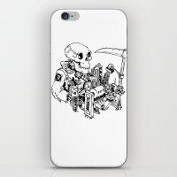 Grim Reaper - Power Scythe iPhone & iPod Skin