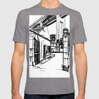LX Factory 4 Mens Fitted Tee Tri-Grey SMALL