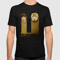 Jay and Silent Bob Strike Back (2001) Mens Fitted Tee Tri-Black SMALL