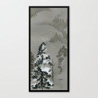 Duck Mountain Canvas Print