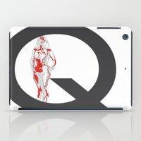 Queen of Diamonds iPad Case