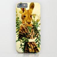 iPhone & iPod Case featuring Australian Icon: The Kangaroo by Nani Puspasari