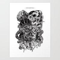 Ghatanothoa Art Print