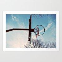 Hoop Art Print