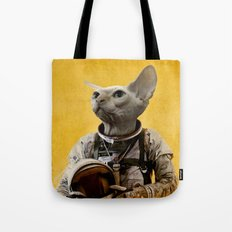 Proud Astronaut Tote Bag