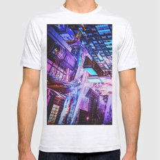New York City Blade Runner Mens Fitted Tee Ash Grey SMALL