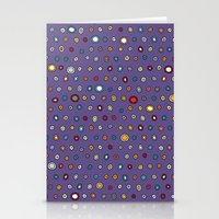 asteroid spot Stationery Cards