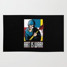 Art is War! Rug