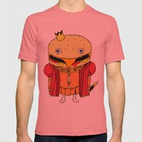 royale with cheese Mens Fitted Tee Pomegranate SMALL