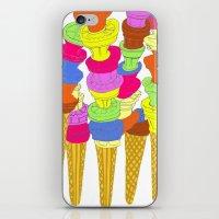 Icecreams iPhone & iPod Skin