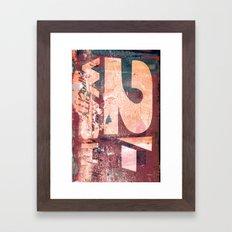 Collide 8 Framed Art Print