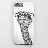 iPhone & iPod Case featuring Ostrich by LouJah