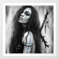 Death's Tireless Whisper… Art Print